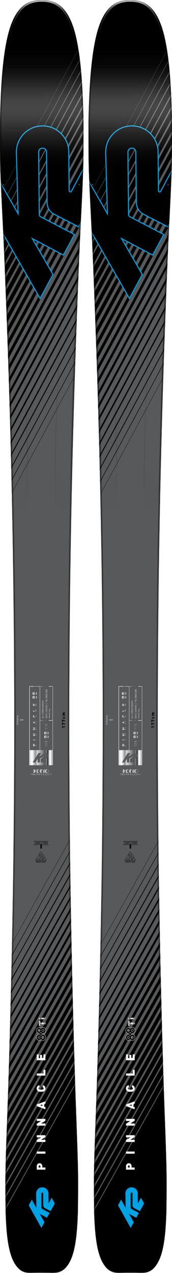 K2 Pinnacle 88Ti Skis 2019