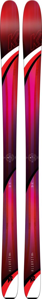 K2 AlLUVit 88Ti Skis 2019