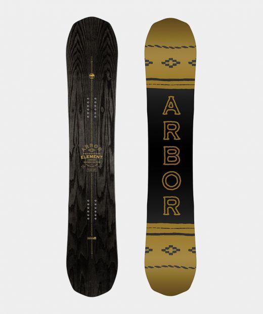 Arbor Element Black Rocker Snowboard 2019