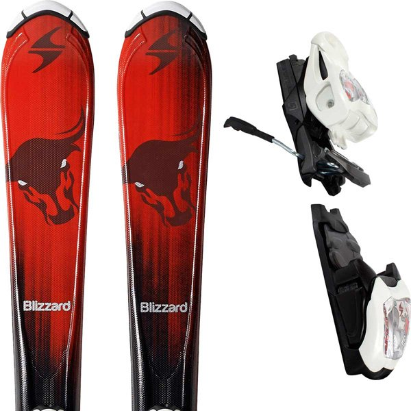 Blizzard Bonafide IQ Jr Skis + IQ 4.5 Jr 2017