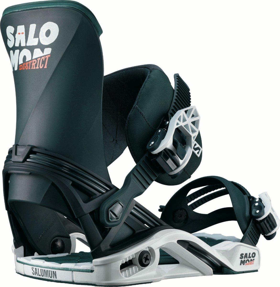 Salomon District Snowboard Bindings 2018