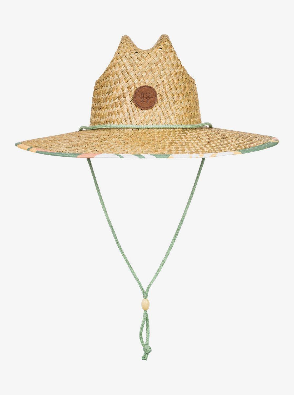 Roxy Piña To My Colada Straw Sun Hat
