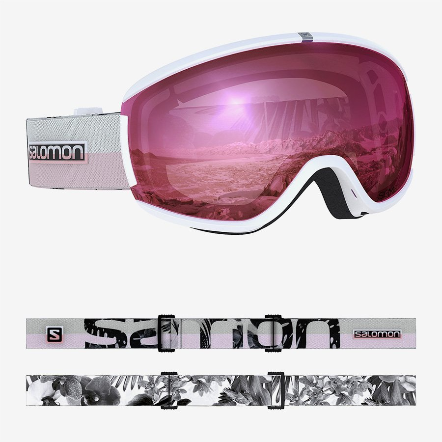 Salomon iVY Sigma White Flower Goggles