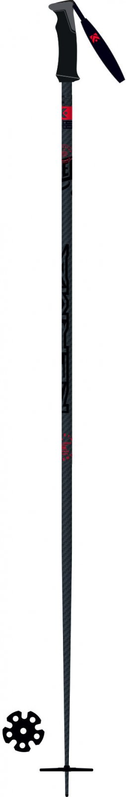 Kerma Legend Carbon Safety Ski Poles 2020