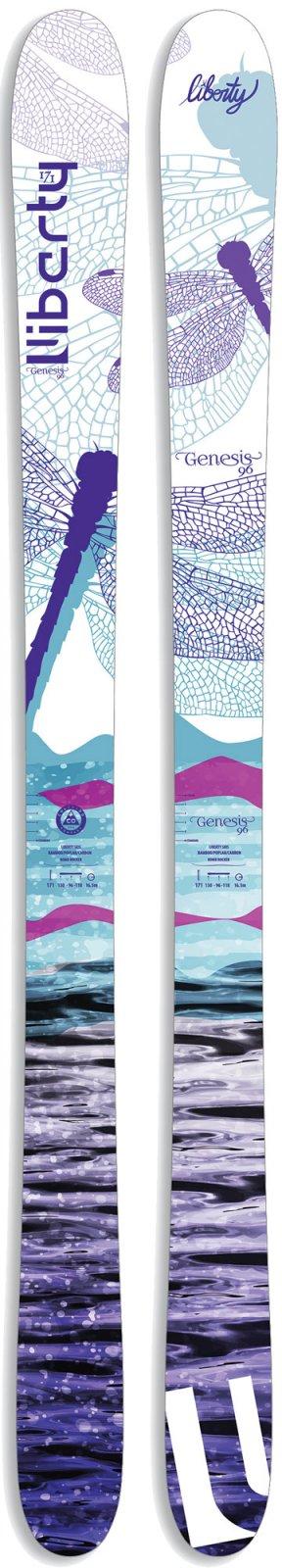Liberty Genesis 96 W Skis 2018 - size 151cm