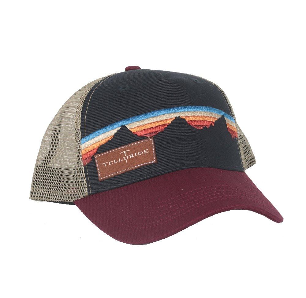 Locale Telluride Teton Sunset Trucker Hat