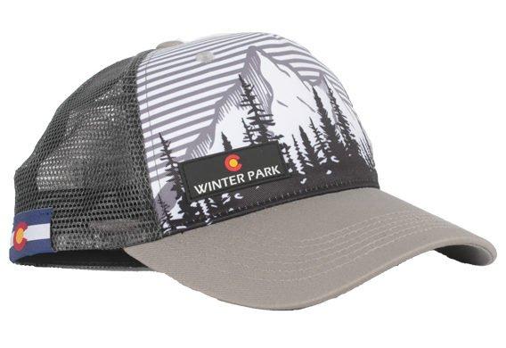 Locale Winter Park Highland Trucker Hat