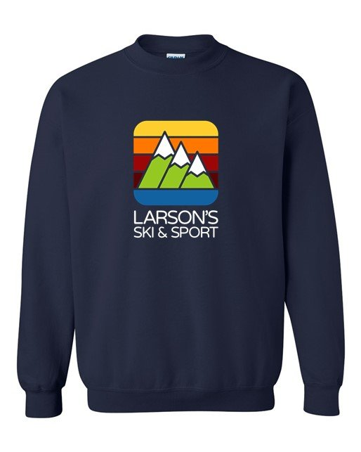 Larson's Ski & Sport Crew Neck Sweatshirt