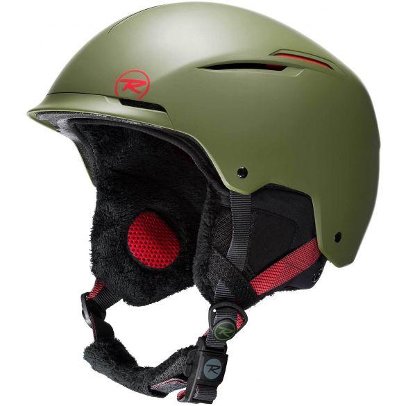 Rossignol Unisex Helmet Templar Impacts Top - Kaki - M/L (55-59cm)