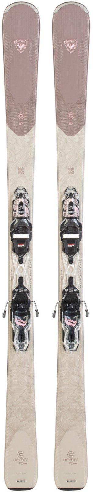 Rossignol Experience 82 Basalt W Skis + Look Xpress 11 GW Bindings 2022