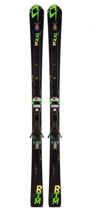 Volkl RTM 86 UVO Skis + Marker iPT WideRide XL 12.0 FR D Bindings 2016