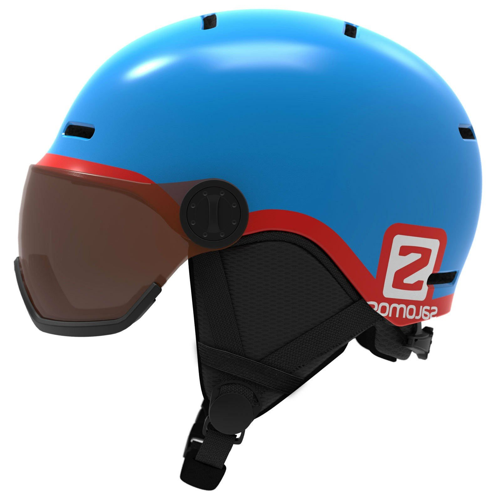Salomon Grom Visor Helmet 2019
