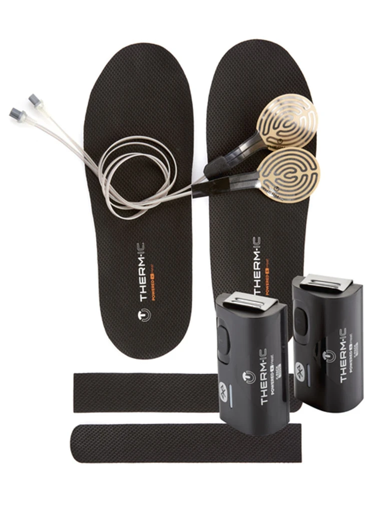 Therm-IC Set Heat Kit + C-Pack 1300B Heated Insoles Kit