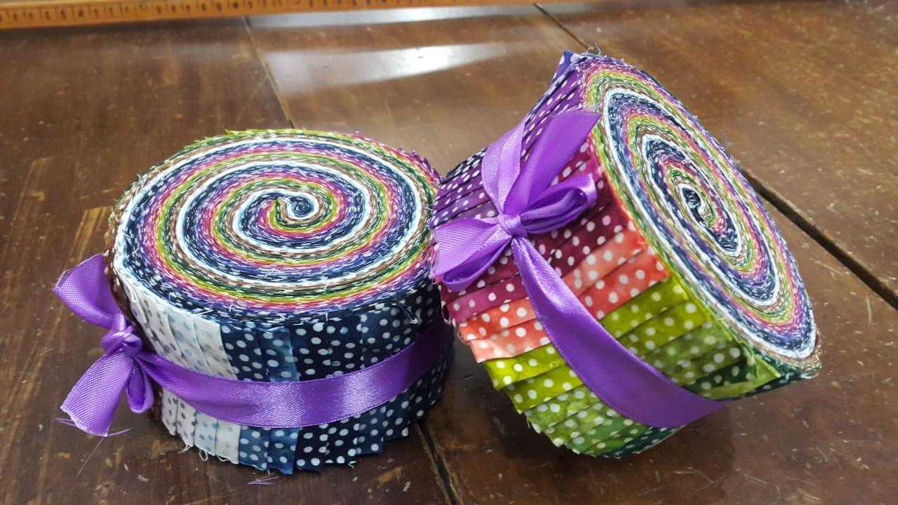 Batik Jelly Rolls