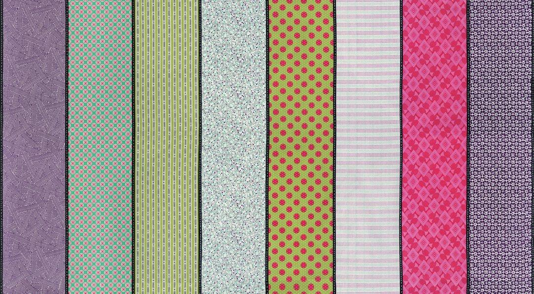 Looking Forward Lollies Multi Strip by Jen Kingwell 12
