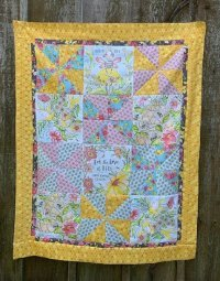 For the love of bees quilt kit