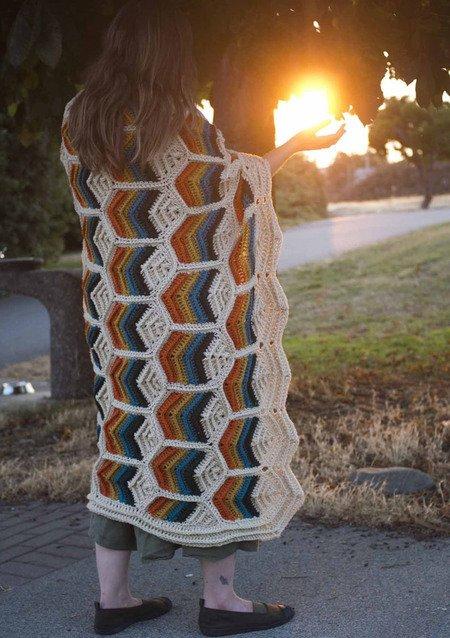 California Blanket - Crochet pattern