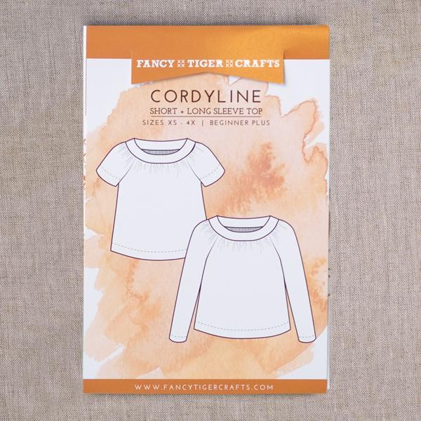 Cordyline - Long + Short Sleeved Top Pattern