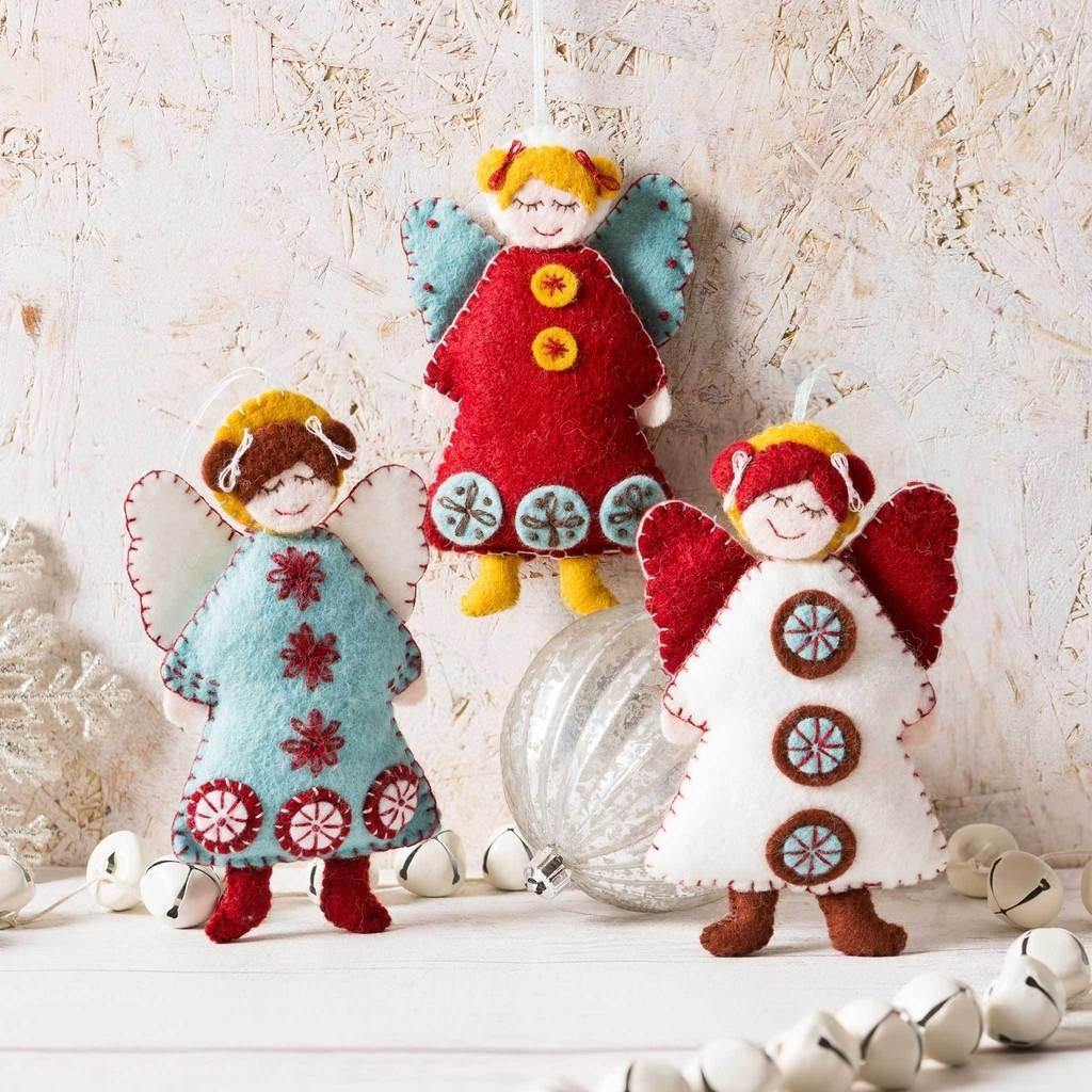 Scandinavian Angels Felt Kit by Corinne Lapierre