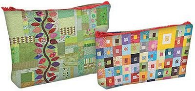 Eco Pouch Sets - Quilt themed pouches