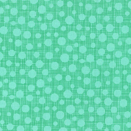 Hash Dot - Mint - Michael Miller
