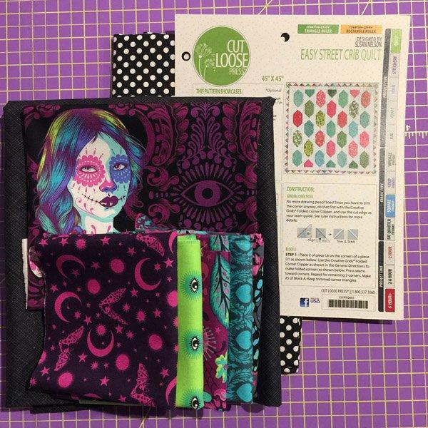 Clairvoyant - De La Luna quilt kit