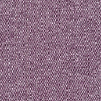 Essex Eggplant Yarn Dyed Linen
