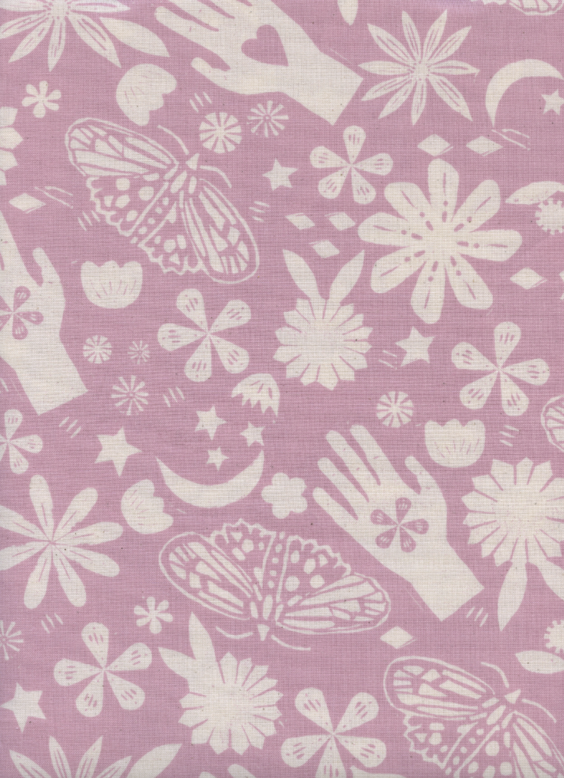 Cotton + Steel - Moonrise - Dream - Lilac