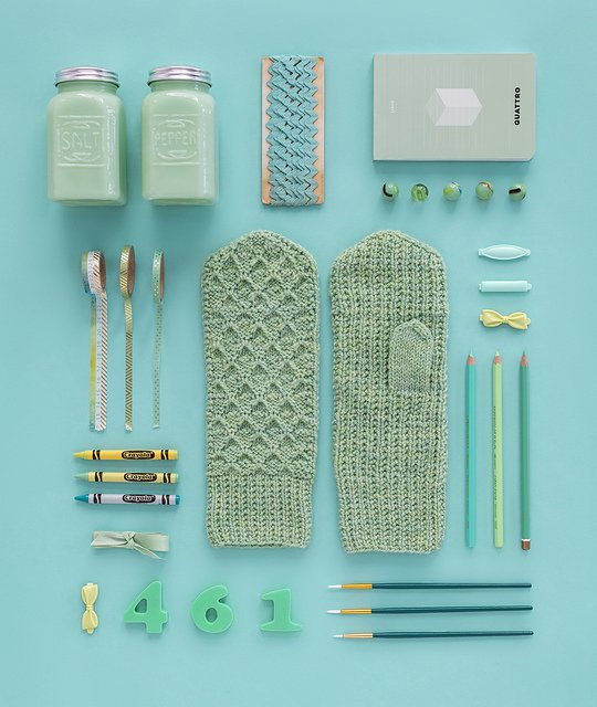 Primrose Mittens Kit - February - Year of Gifts by Kelbourne Woolens - copy