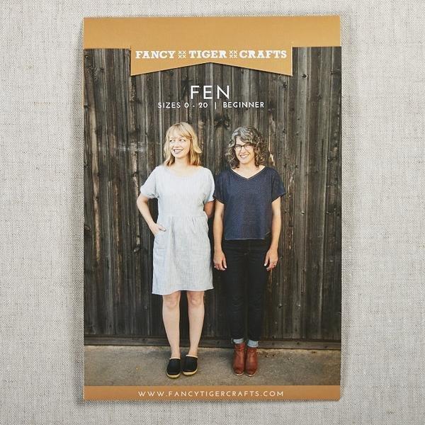 Fen Dress + Shirt pattern