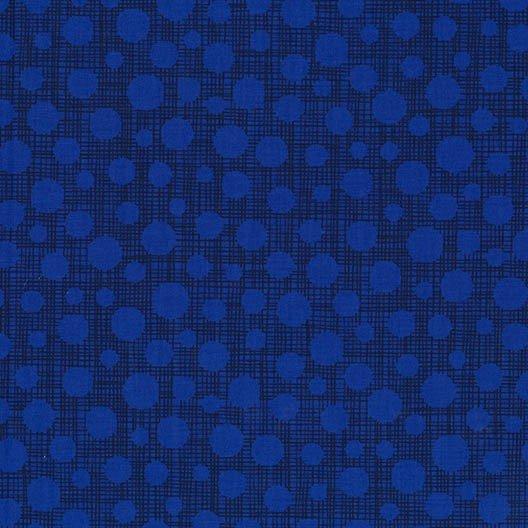 Hash Dot - Royal - Michael Miller