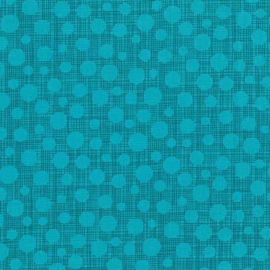 Hash Dot - Turquoise - Michael Miller