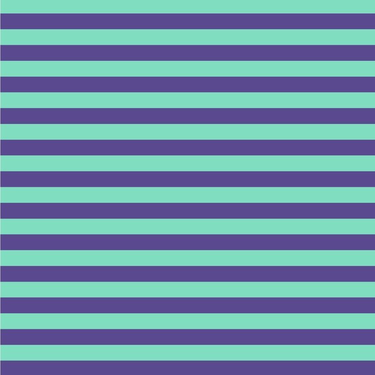 De La Luna - Tent Stripe - Iris - Tula Pink