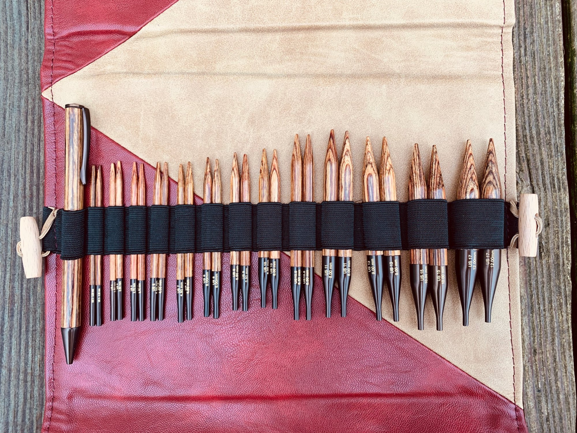 Ginger Special Interchangeable Knitting Needle Set
