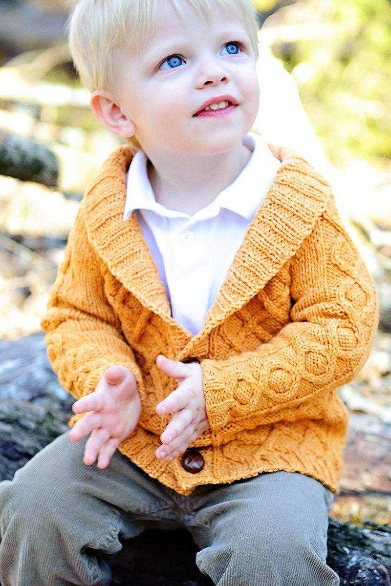 Gramps Cardigan knitting pattern