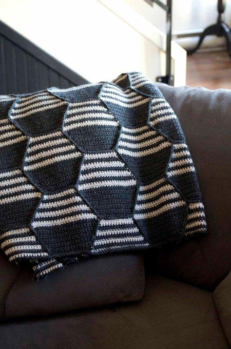 Hex Blanket - Crochet pattern