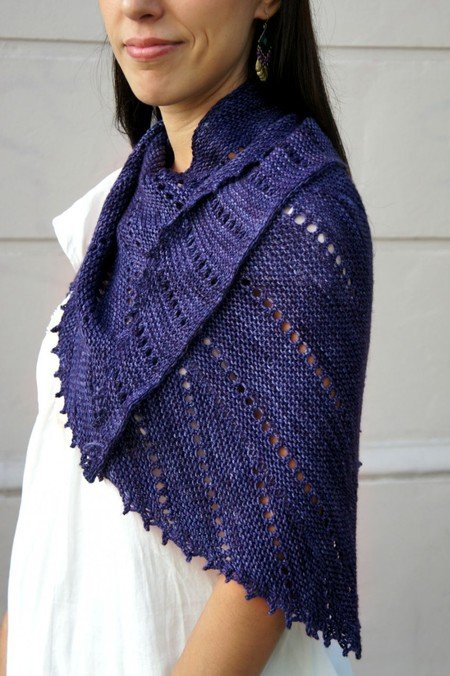 Imagine When Shawl pattern by Joji Locatelli