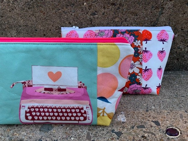 Ruby Star Zippy Pouch Kits