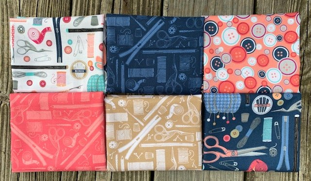 Crafters Fat Quarter Pack - 6