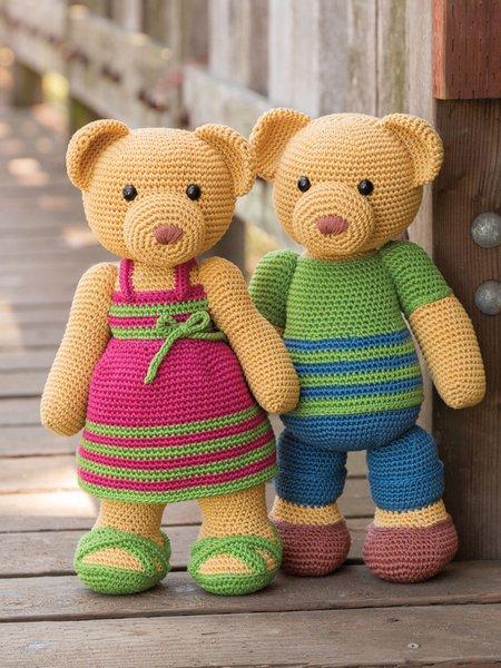 Irene & George - Crochet pattern