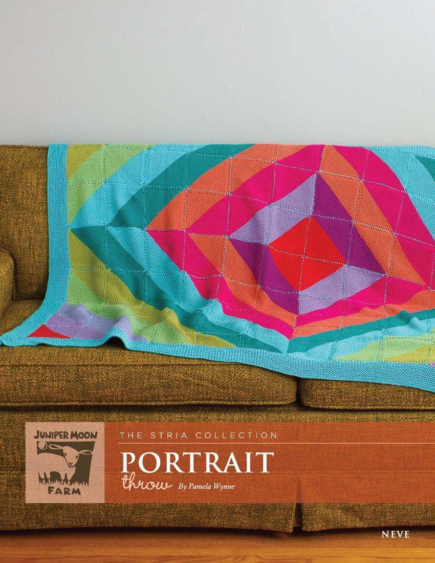 Portrait Throw pattern