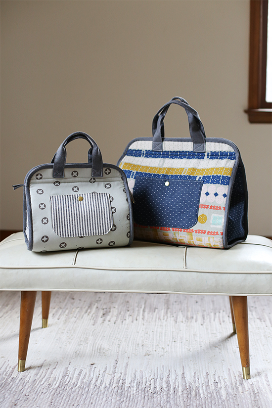Maker's Tote Pattern by Noodlehead