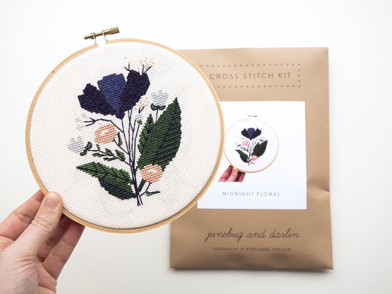 junebug and darlin Cross Stitch Kits