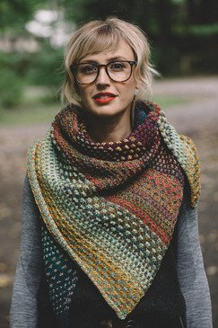 Nightshift Shawl pattern by Drea Renee Knits
