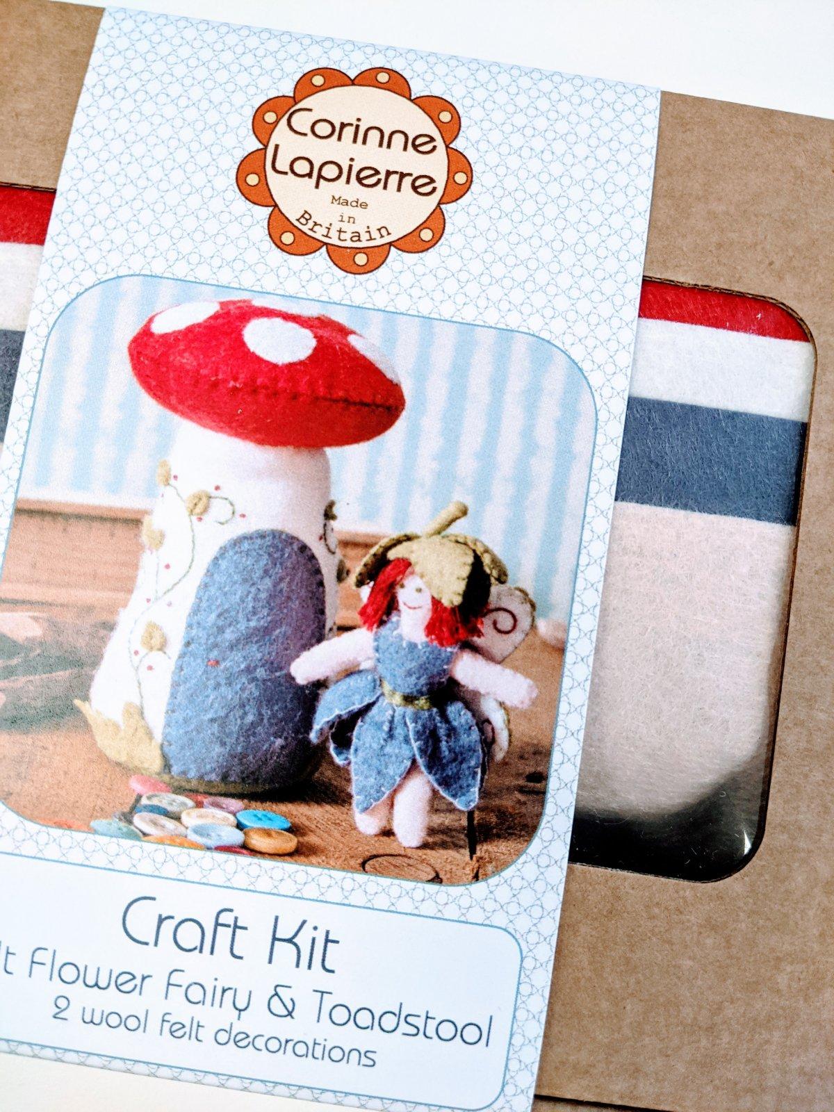 Flower Fairy Felt Kit by Corinne Lapierre
