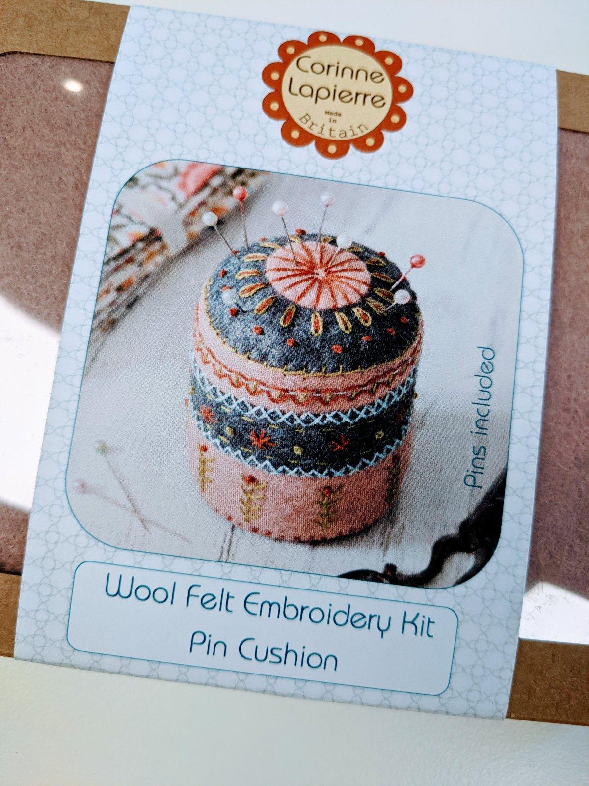 Pincushion Felt Kit by Corinne Lapierre
