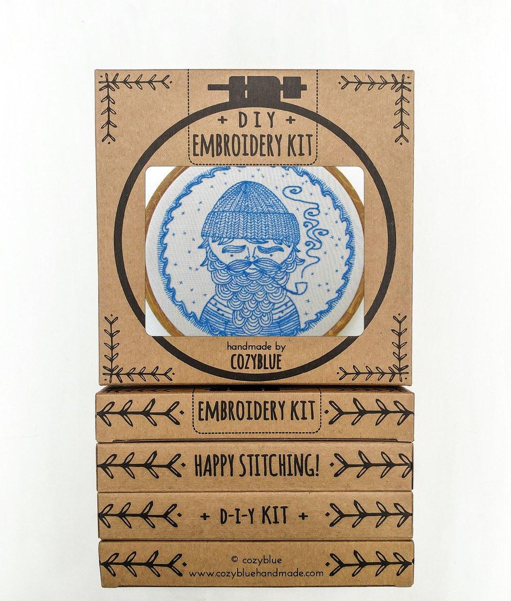 Embroidery Kit- Sea Captian