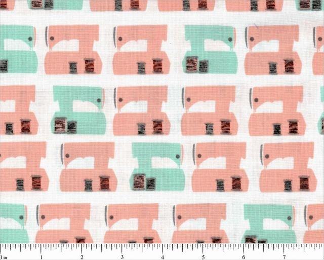 Sew Dressed Up Sewing Machine Fabric