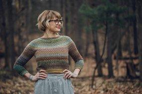 Shifty Sweater pattern by Drea Renee Knits