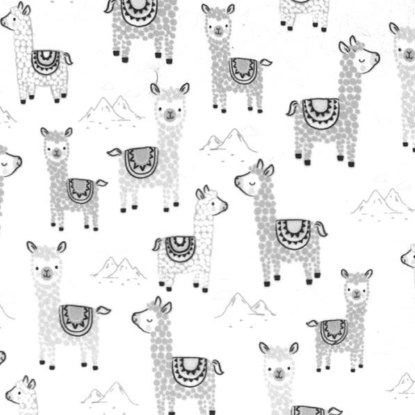 Alpacalettes on Minky